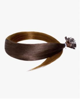 Extension Keratine - Lisse - Ombré N°4-10 Chatain - Extension a chaud - Excellence