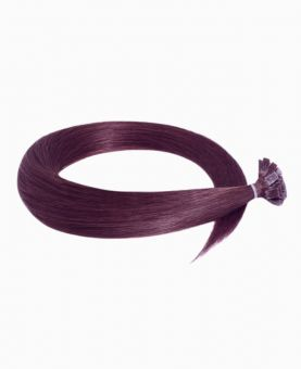 Extension Keratine - Lisse - Chatâin clair irise intense N°99J - Extension a chaud - Excellence