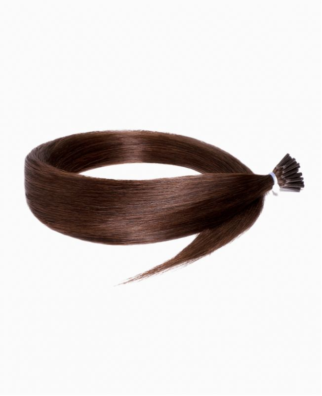 Micro Ring Remy Human Hair Extension - Straight - Excellence - Color 4