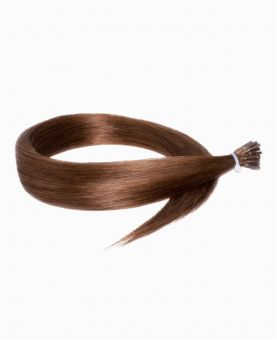 Micro Ring Remy Human Hair Extension - Straight - Excellence - Color 6