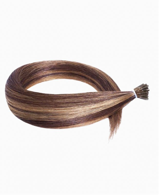 Micro Ring Remy Human Hair Extension - Straight - Excellence - Color Highlights 4-10