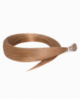 Micro Ring Remy Human Hair Extension - Straight - Excellence - Color 8