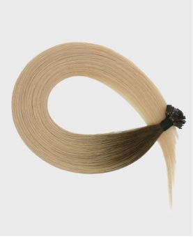 Pre-bonded Remy Human Hair Extensions - Straight - Excellence - Color Rooted Denver