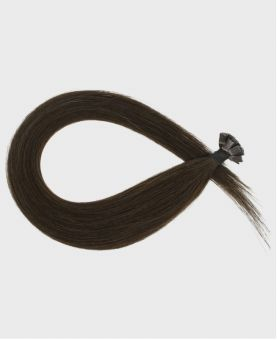 Pre-bonded Remy Human Hair Extensions - Straight - Excellence - Color 2