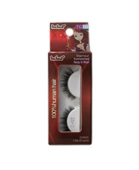 Faux cils 100% Naturel Noir - Extension de cils - model Z02