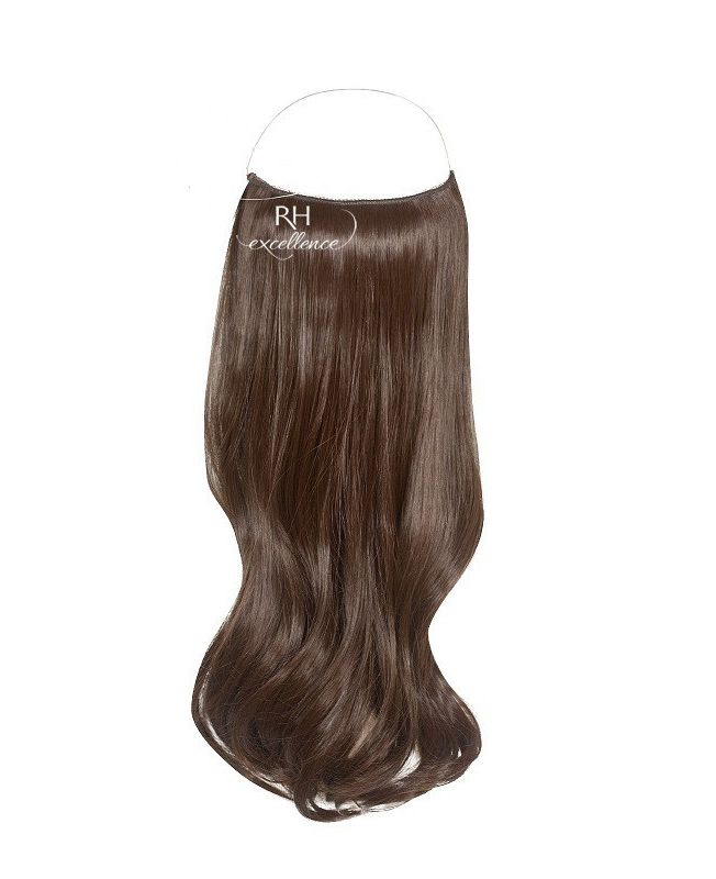 """Flip in Hair Extensions 18"""" (Set of 120 gr) Straight - Synthetic Fiber - Color 4"""