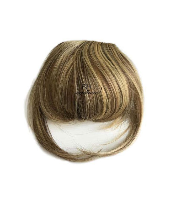 Clip In Fringe - Hair Piece Synthetic Fiber - Color Highlights 6-22