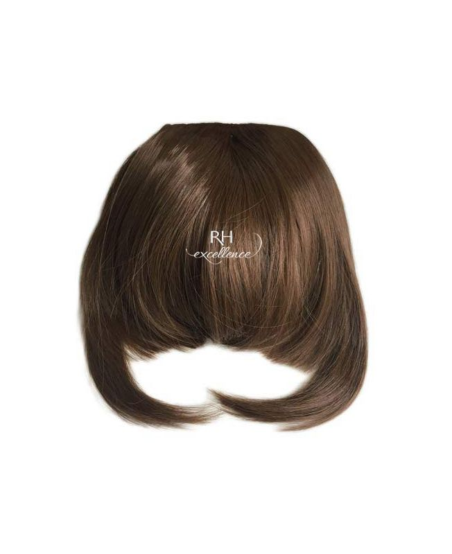 Clip In Fringe - Hair Piece Synthetic Fiber - Color 6