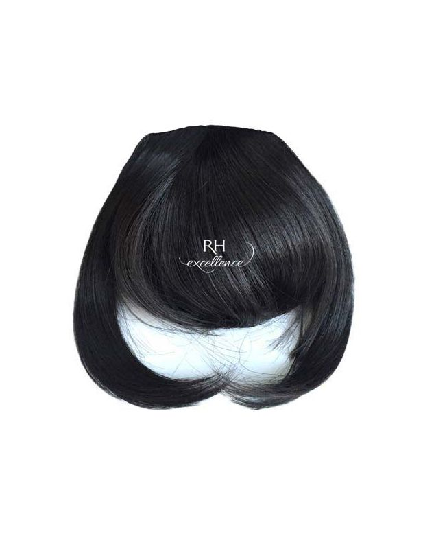 Clip In Fringe - Hair Piece Synthetic Fiber - Color 1