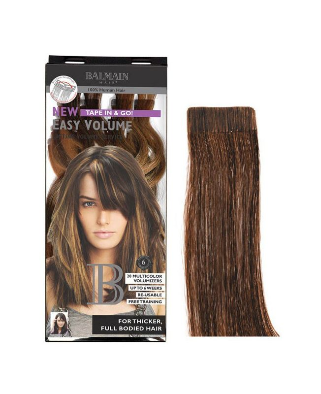 Extension Adhésive Easy volume Balmain 40 cm - Extension Bande - Light Brown