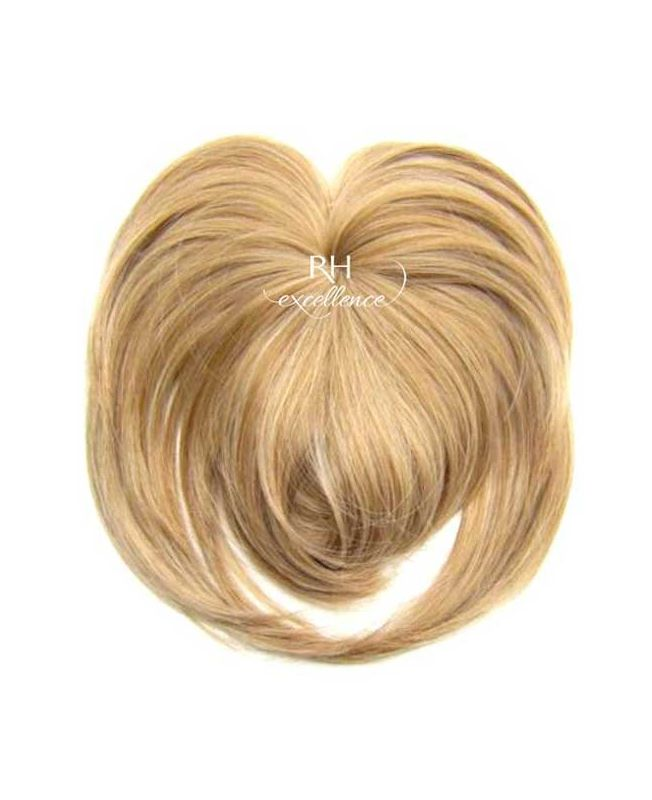 Toupet volumateur naturel a Frange - Blond méché N°613/14 - Postiche - Extension cheveux