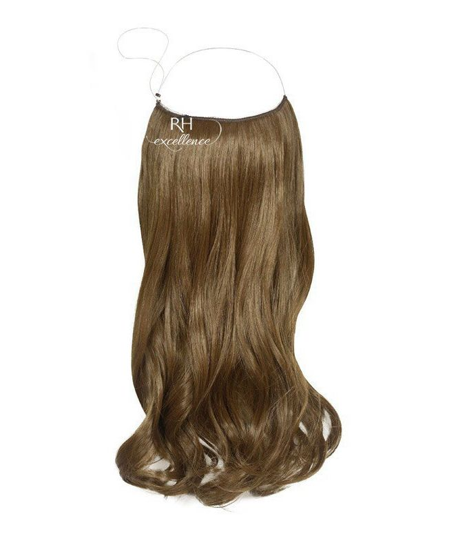 """Flip in Hair Extensions 18"""" (Set of 120 gr) Straight - Synthetic Fiber - Color 8"""
