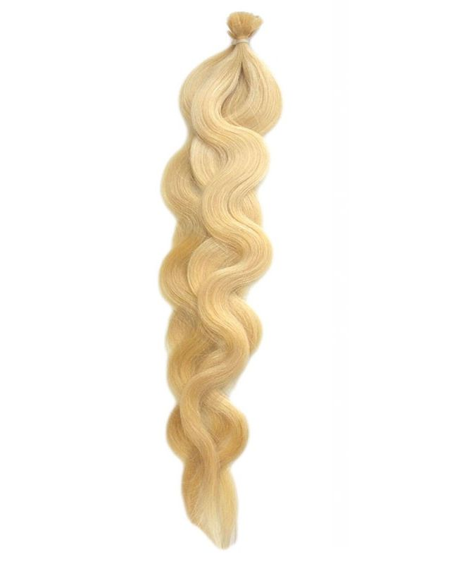 """Pre-bonded Remy Human Hair Extensions 18"""" - Wave - Excellence - Color 22"""