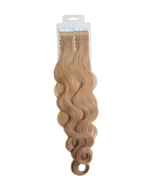 Tape in Remy human Hair Extensions - Nature Wave - Excellence - Color 18