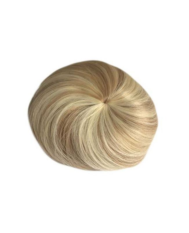 Chic synthetic round Hair Bun - Color 613-14