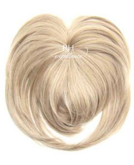 Toupet volumateur naturel a Frange - Blond platine N°613 - Postiche - Extension cheveux