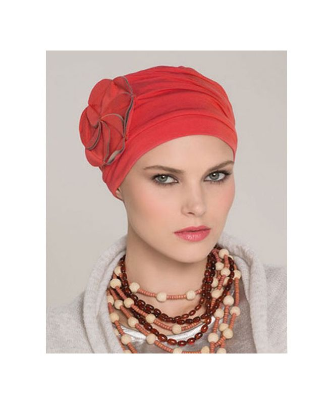 Turban / Scarf for Chemotherapy - Mora Red - MIO Collection by Ellen Wille