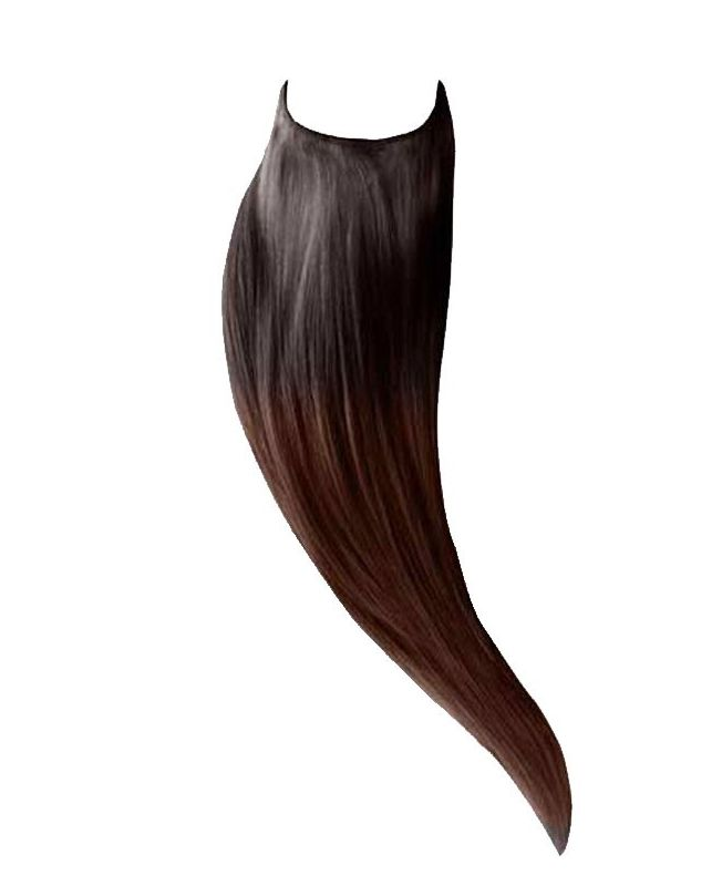 Extension cheveux Easy Fit Lisse - Ombré brun 1B/4