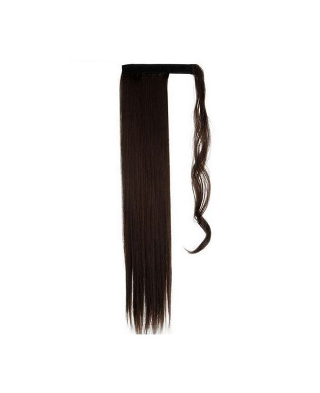"""Ponytail Synthetic Fiber 18"""" (Set Of 80 Gr) Straight - Color 4"""