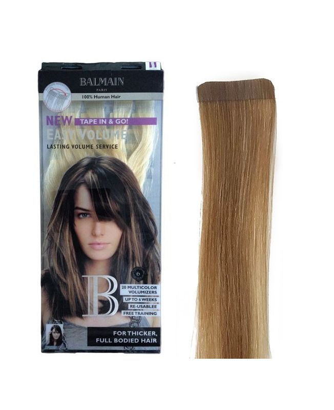 Extension Adhésive Easy Volume Balmain 40 cm - Very Light Gold Blonde