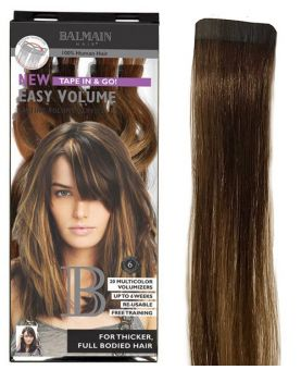 Extension Adhésive Easy Volume Balmain Hair 40 cm - Dark Gold Blonde