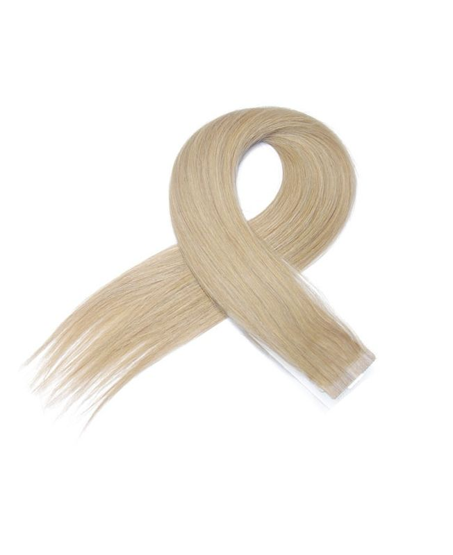 4 Tape in Hair Extensions 50 cm SOCAP - Straight - Color 20